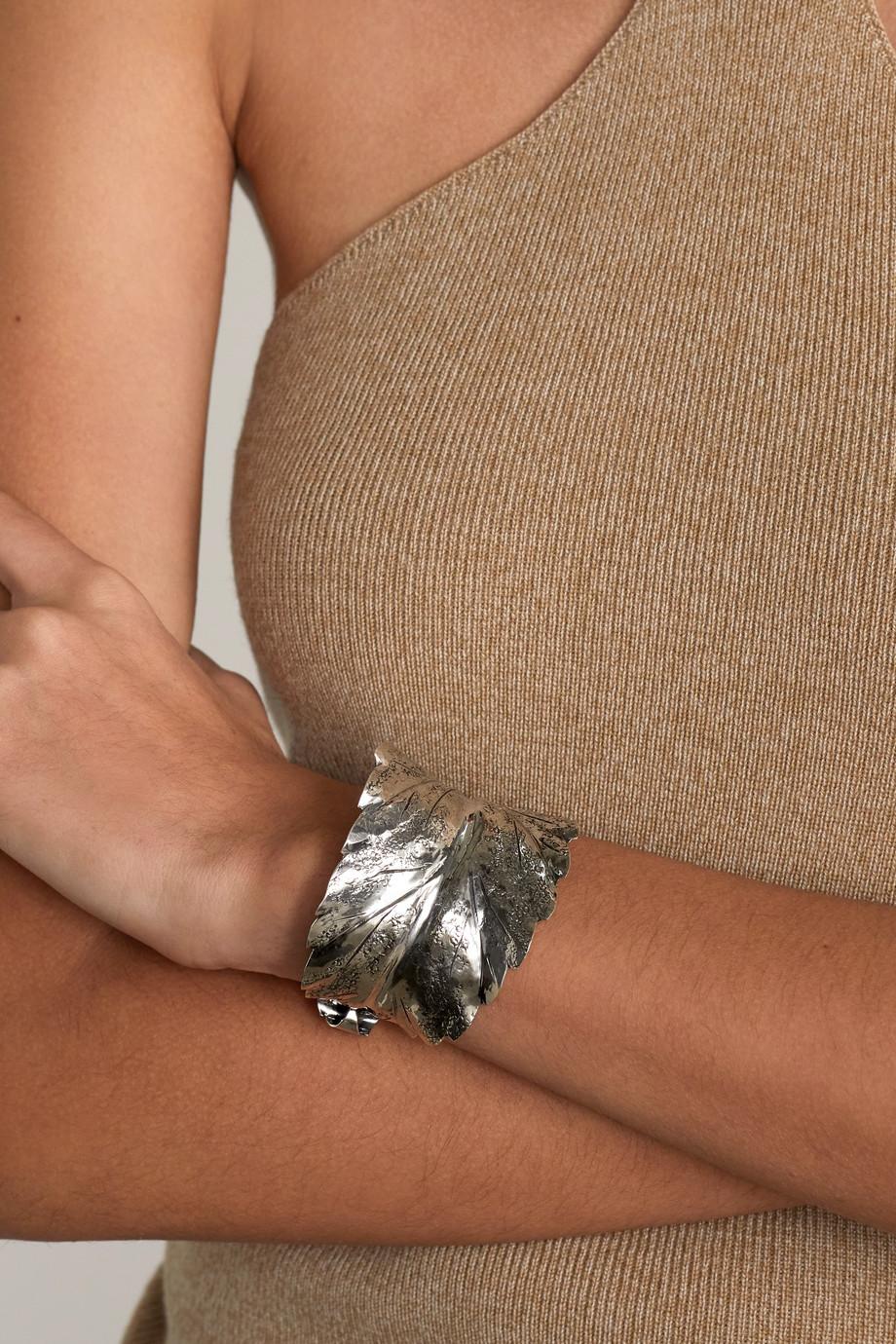 Buccellati Prestigi sterling silver cuff