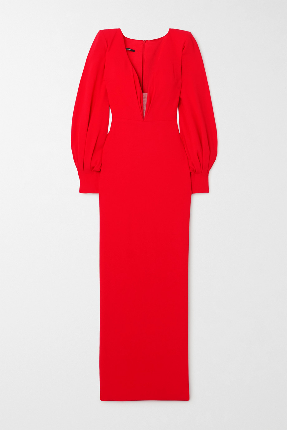Alex Perry Carlin satin-crepe gown
