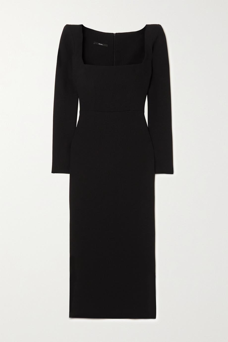 Alex Perry Baird stretch-crepe midi dress