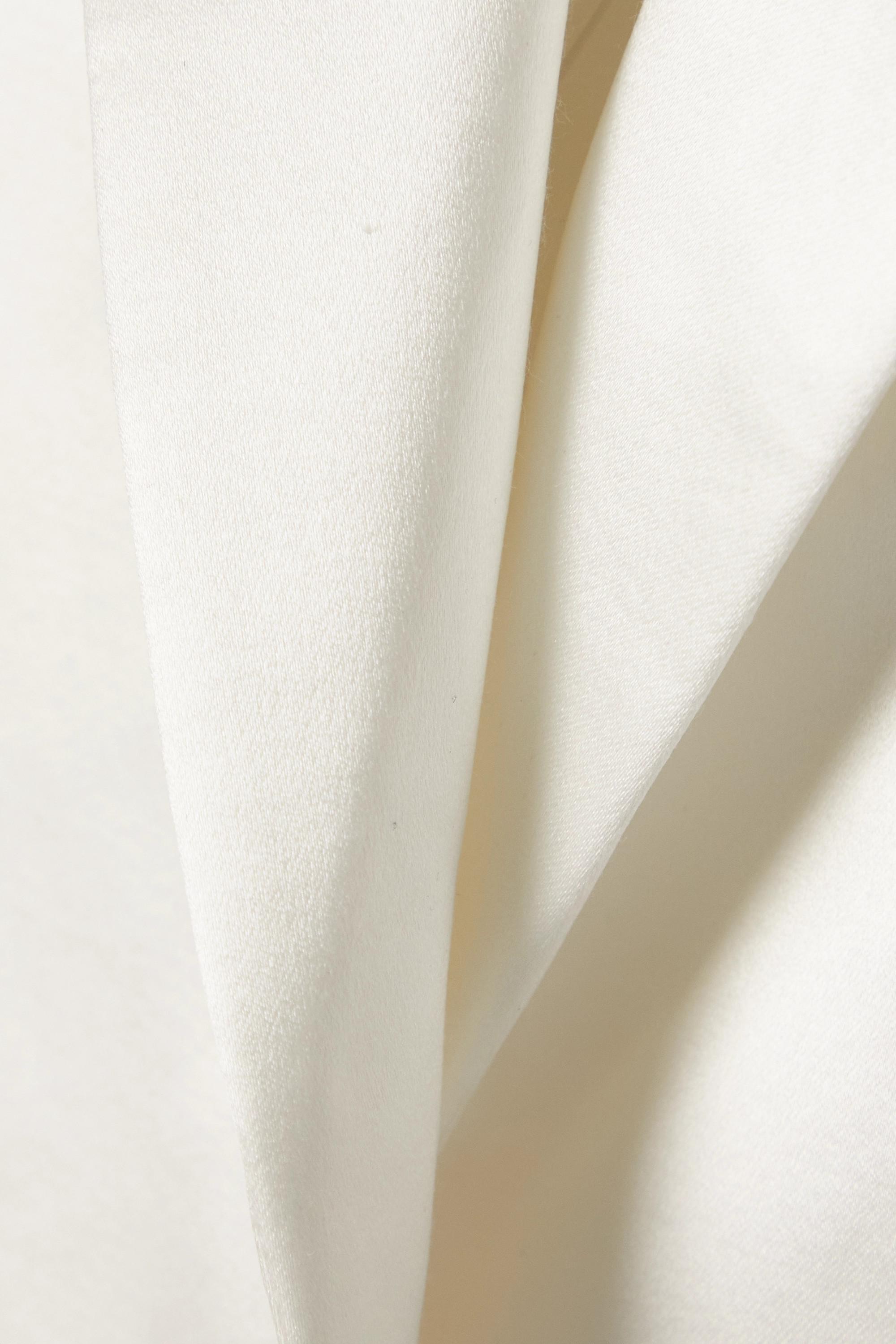 Alex Perry Banks Blazer aus Duchesse-Satin aus einer Baumwoll-Seidenmischung