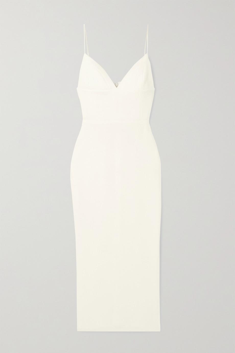 Alex Perry Deon stretch-crepe midi dress