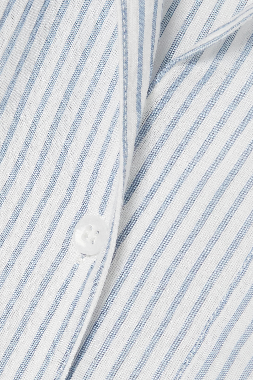 Eberjey Nautico striped cotton-blend pajama set