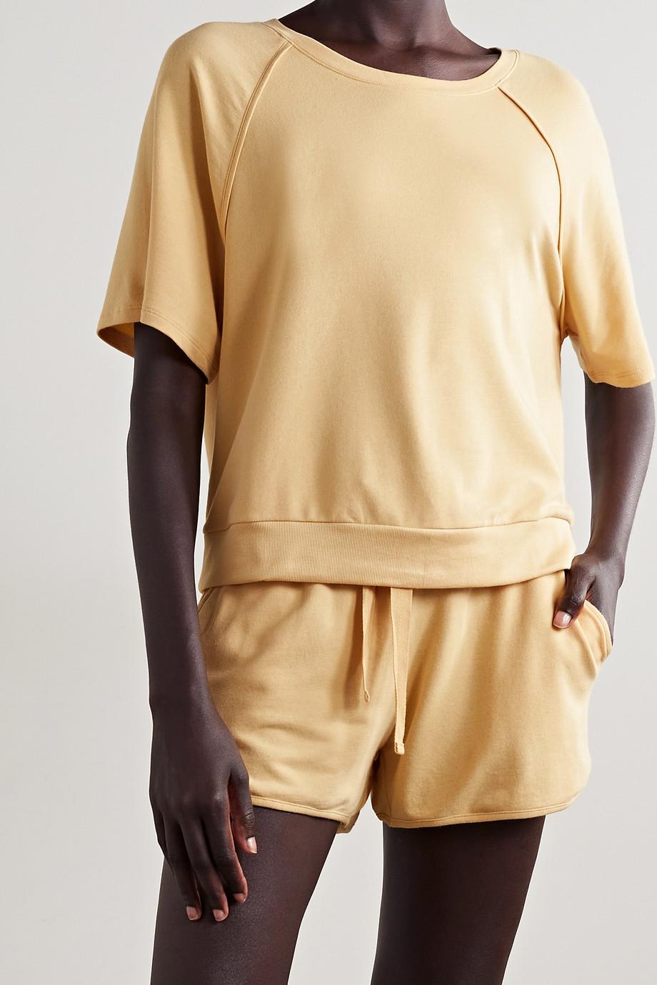 Eberjey Blair stretch Pima cotton and modal-blend pajama set