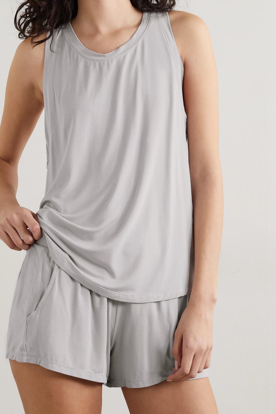 Eberjey Finley stretch-jersey pajama set