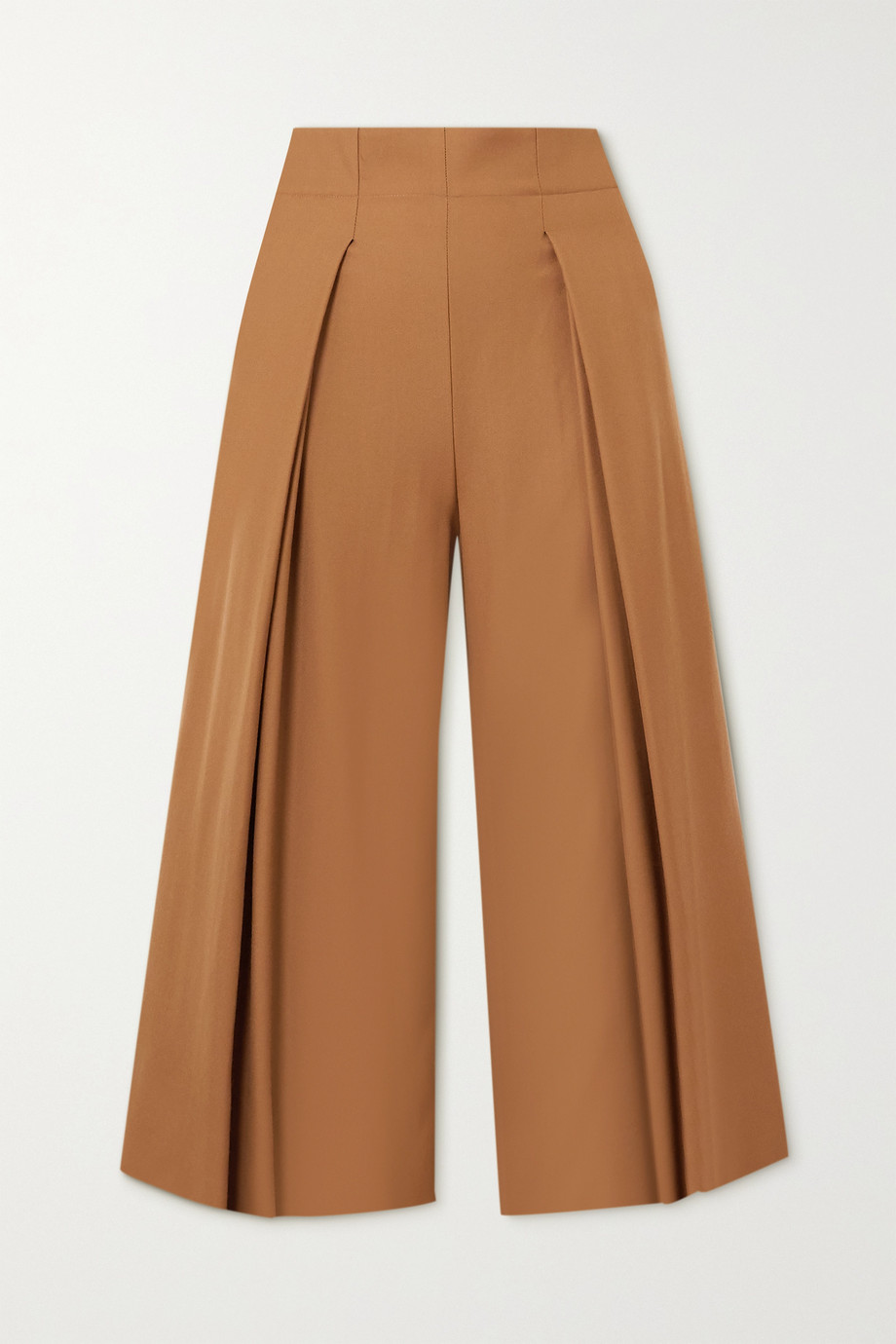 YOOX NET-A-PORTER For The Prince's Foundation Culottes aus Merinowolle mit Falten