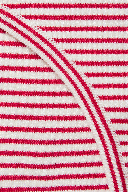 Etro Striped cotton-blend bodysuit