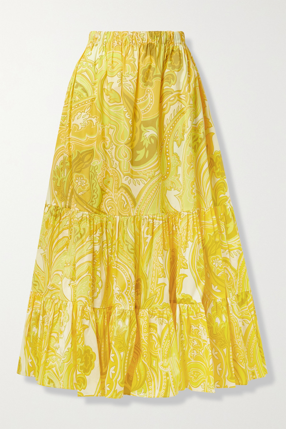 Etro Maxirock aus Popeline aus einer Baumwollmischung mit Paisley-Print