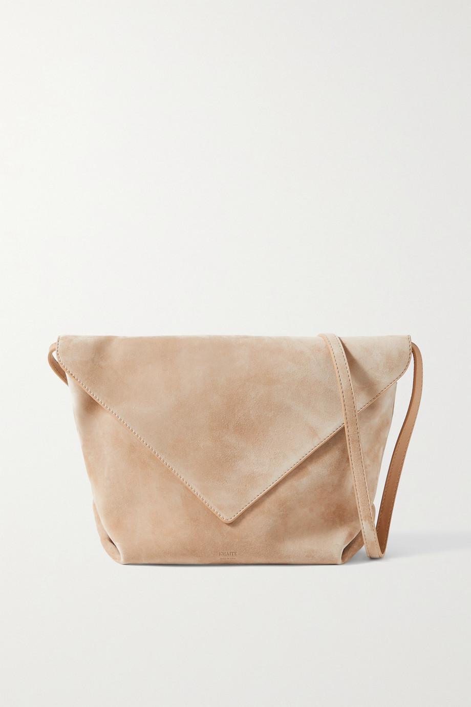 Khaite Maude medium suede shoulder bag