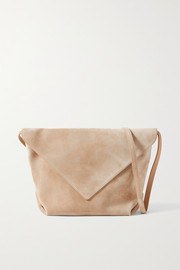 Khaite Maude medium suede shoulder bag