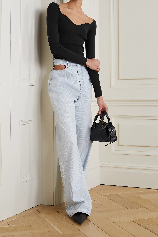 Balenciaga Stretch modal-blend jersey top