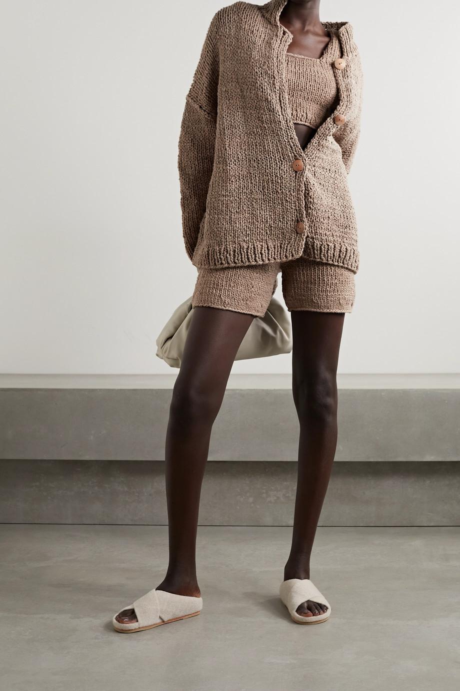 Lauren Manoogian Cropped cotton top
