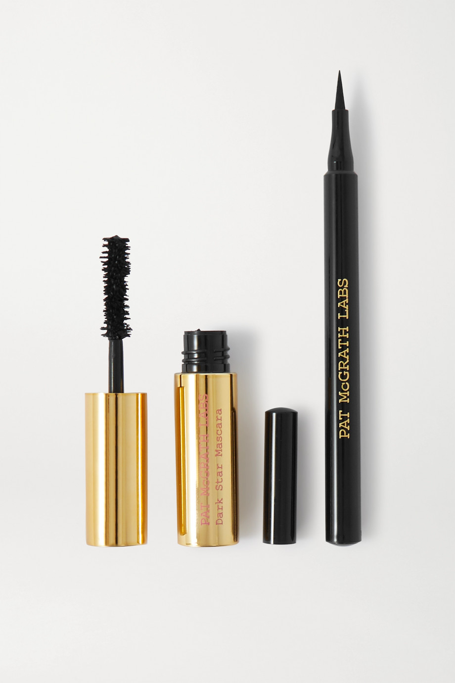 Pat McGrath Labs Xtreme Precision Eye Duo – Black – Set aus Eyeliner und Mascara