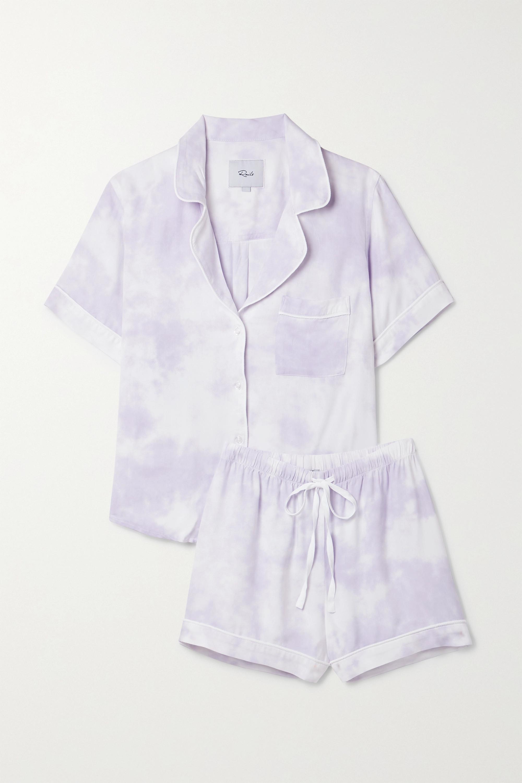 Rails Darcie tie-dyed twill pajama set