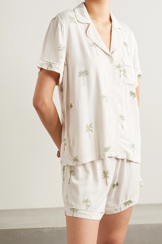 Rails Nessa printed voile pajama set