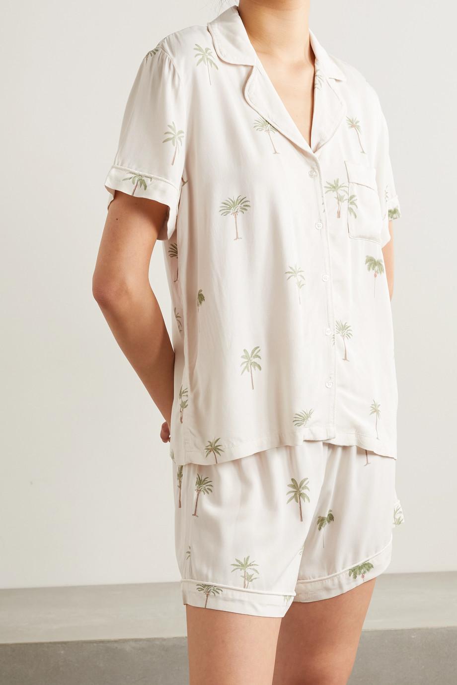 Rails Pyjama en voile imprimé Nessa