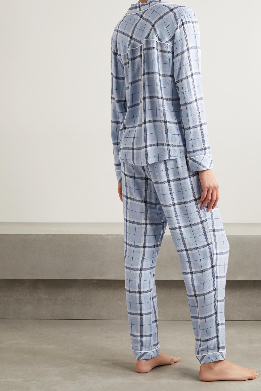 Rails Clara checked voile pajama set