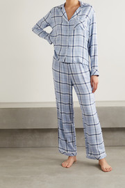 Rails Clara checked voile pajama set
