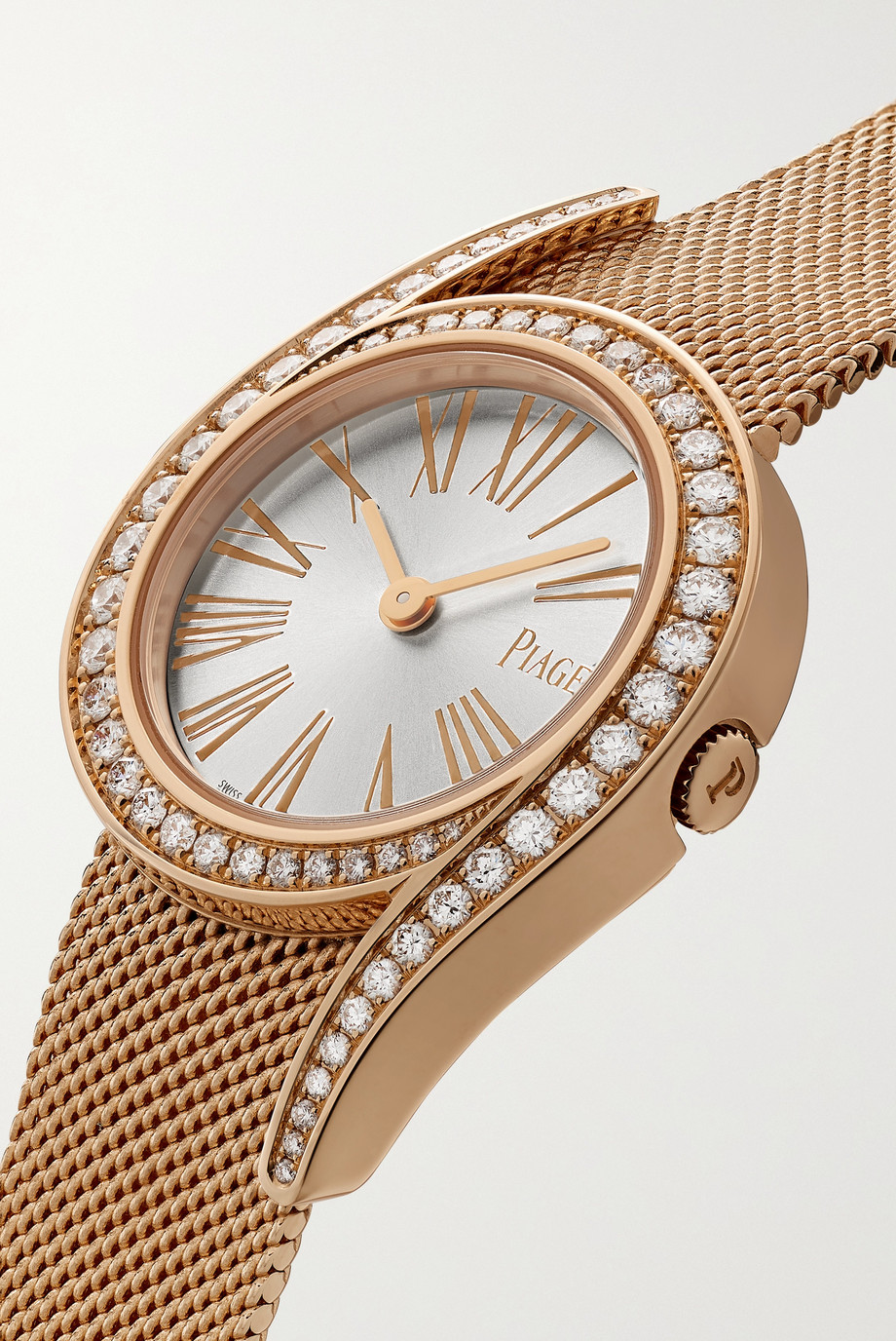 Piaget Limelight Gala 26mm 18-karat rose gold and diamond watch