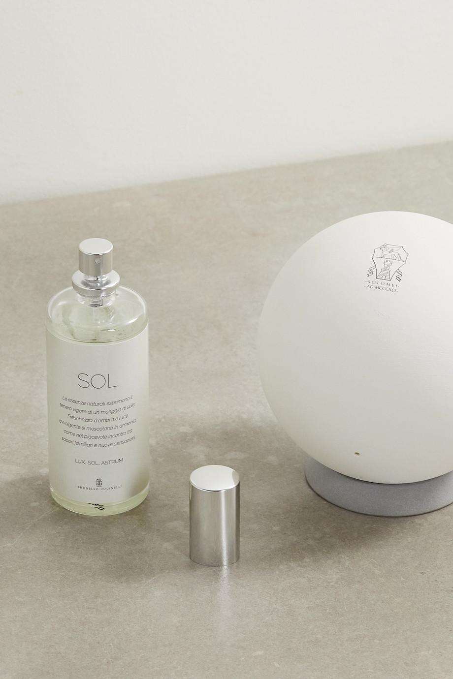 Brunello Cucinelli Diffuseur de parfum et recharge Sol Sphere