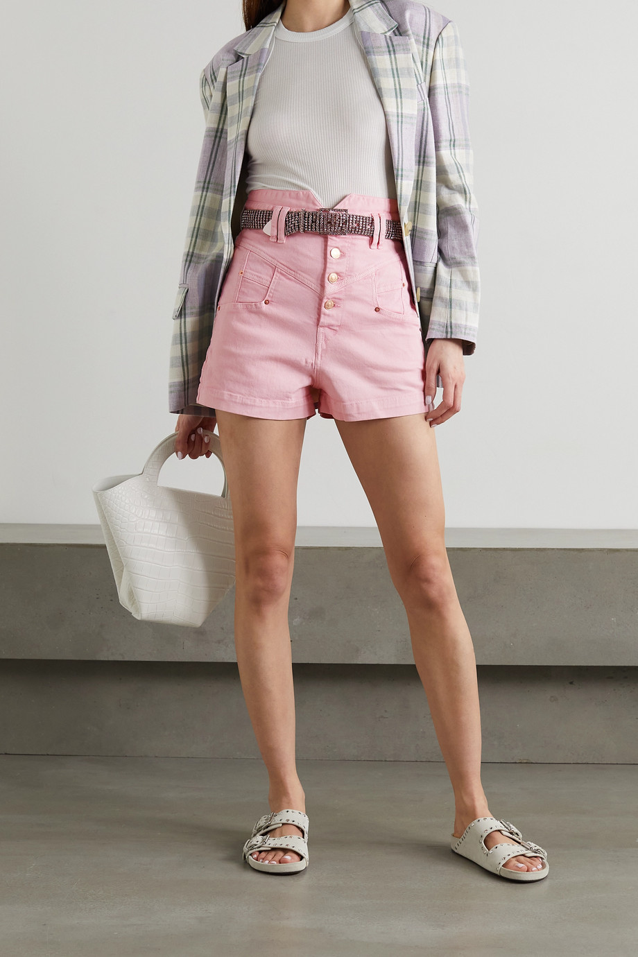 Isabel Marant Diroysr denim shorts