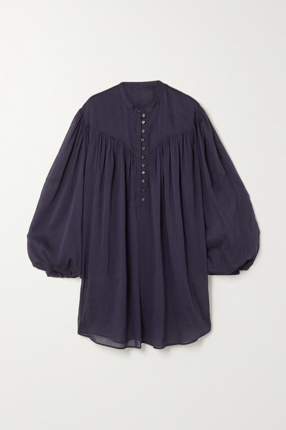 Isabel Marant Kiledia cotton and silk-blend blouse