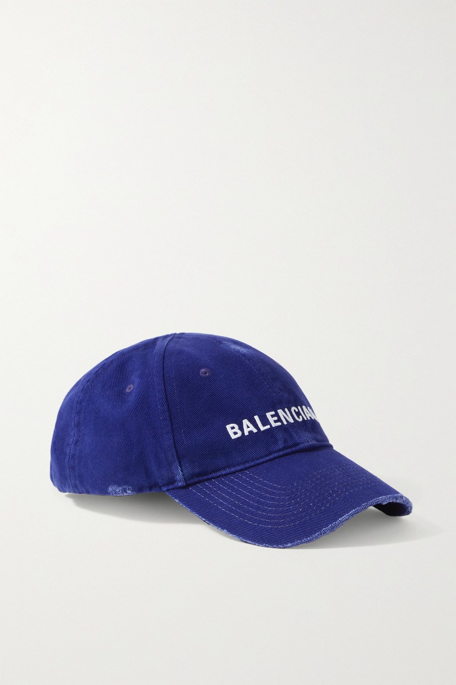 Balenciaga Baseballkappe aus Baumwoll-Twill mit Stickerei