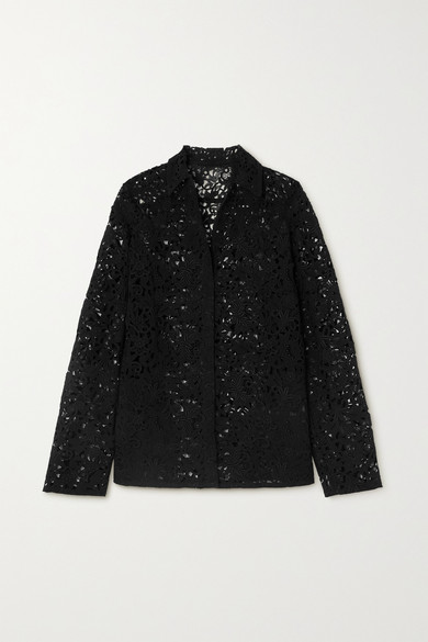 Valentino Cottons CORDED LACE JACKET