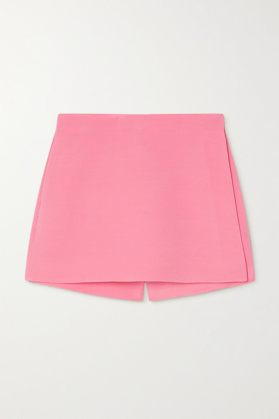 Valentino Shorts aus Crêpe aus einer Woll-Seidenmischung