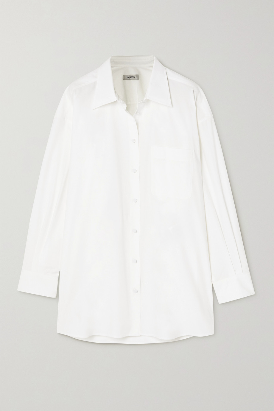 Valentino Hemd aus Baumwollpopeline