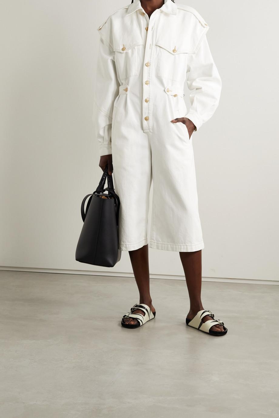 GOLDSIGN Combi-pantalon raccourcie en jean The Cullotte