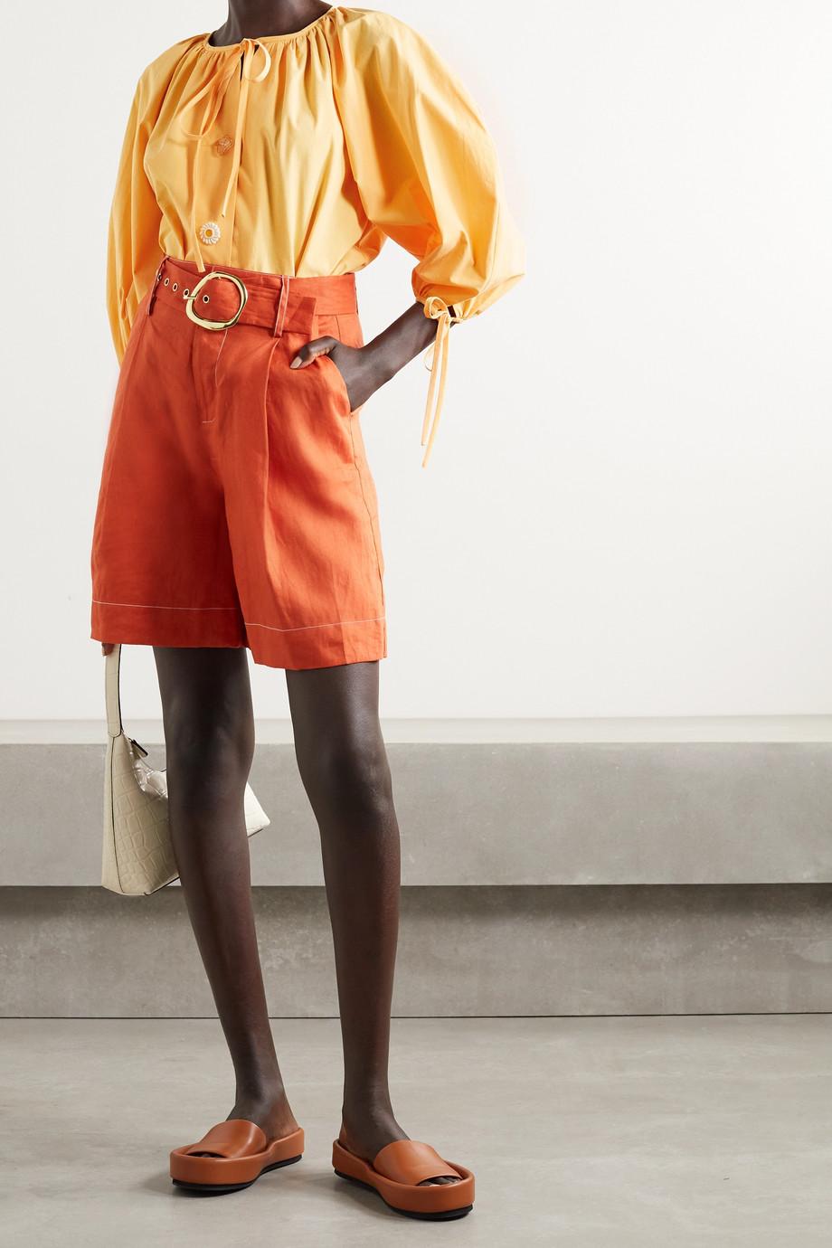 REJINA PYO Scout Bluse aus Biobaumwollpopeline zum Binden