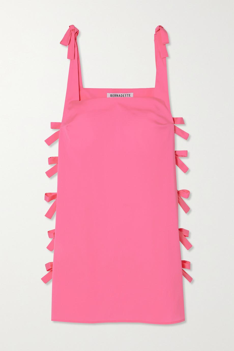 BERNADETTE Lisa Minikleid aus Taft mit Schleifen