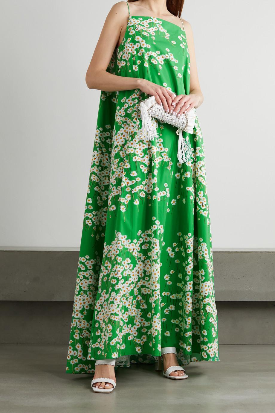BERNADETTE Audrey Maxikleid aus Stretch-Baumwolle mit Blumenprint