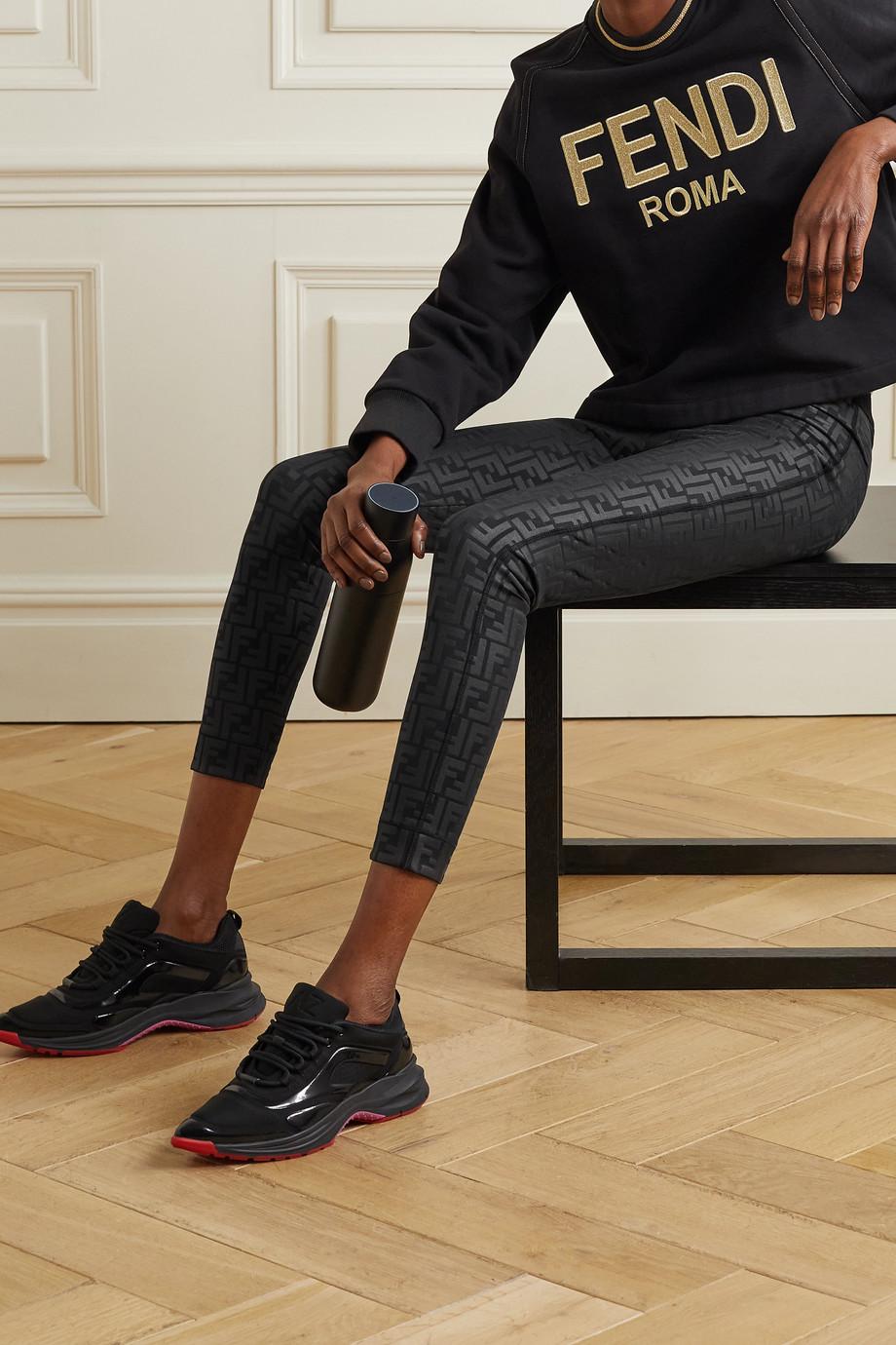 Fendi Stretch-Leggings mit Prägungen