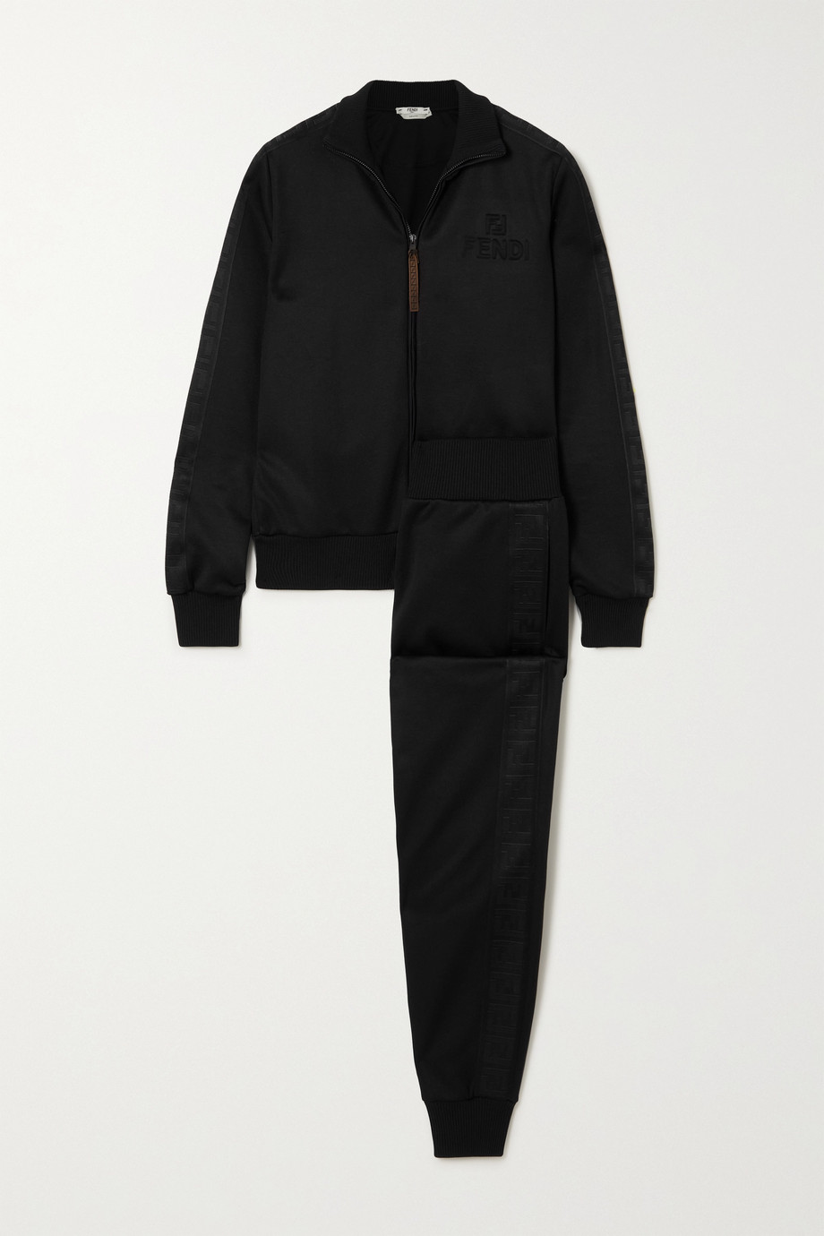 Fendi Trainingsanzug aus Jersey-Piqué mit Prägung