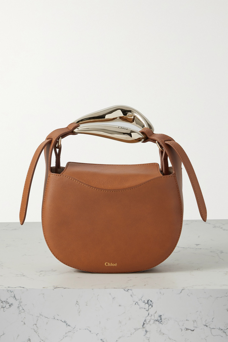 Chloé Sac en cuir Kiss Small