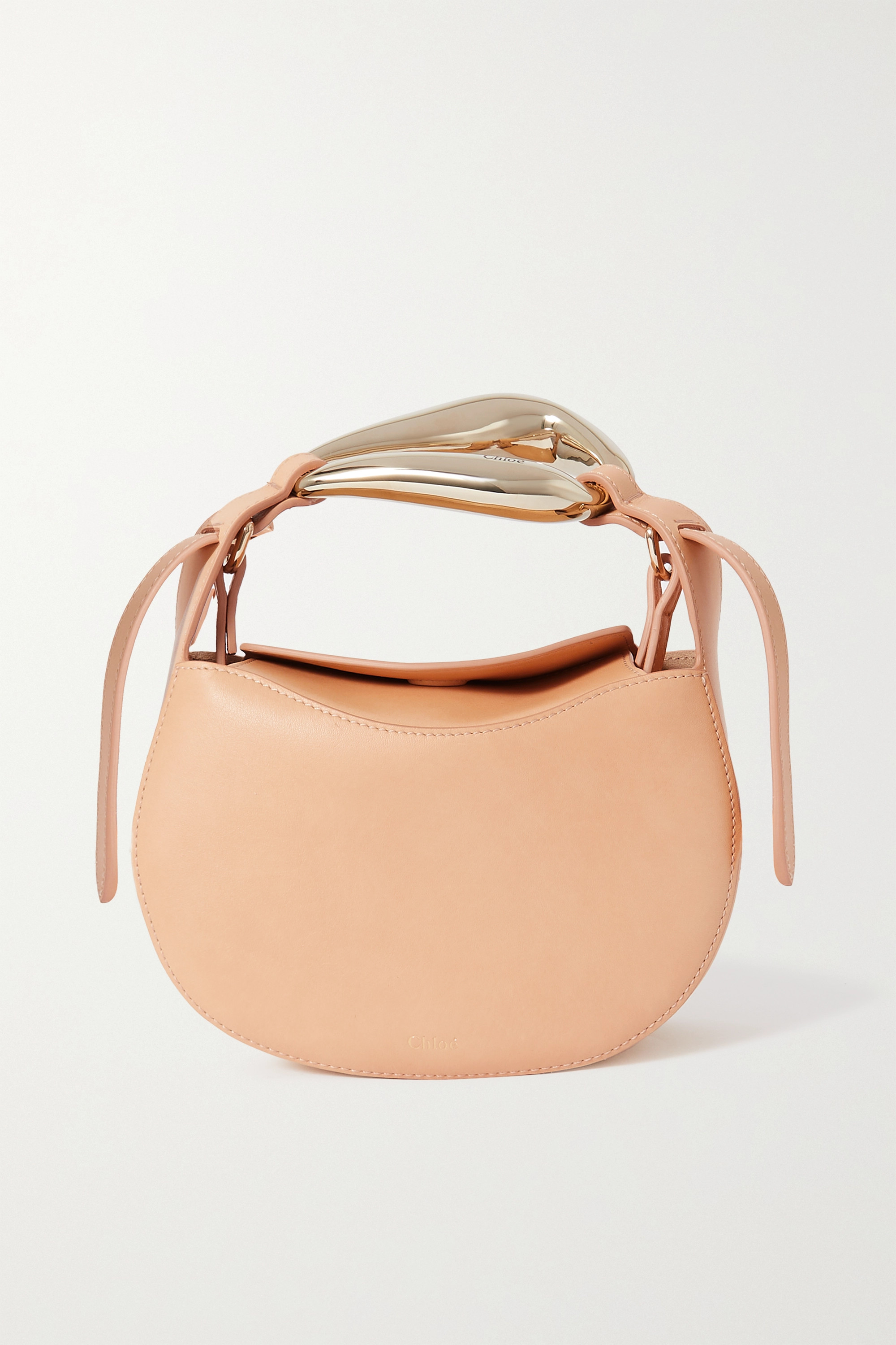 Chloé Kiss small leather tote