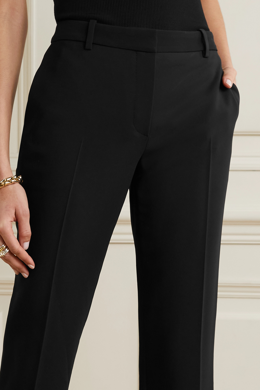 The Row Emm cropped crepe slim-leg pants
