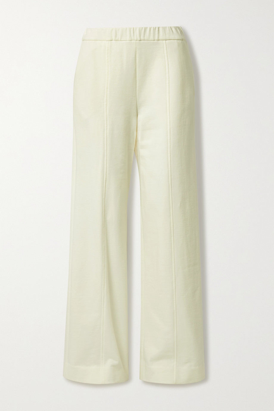 The Row Cesto cotton-jersey track pants
