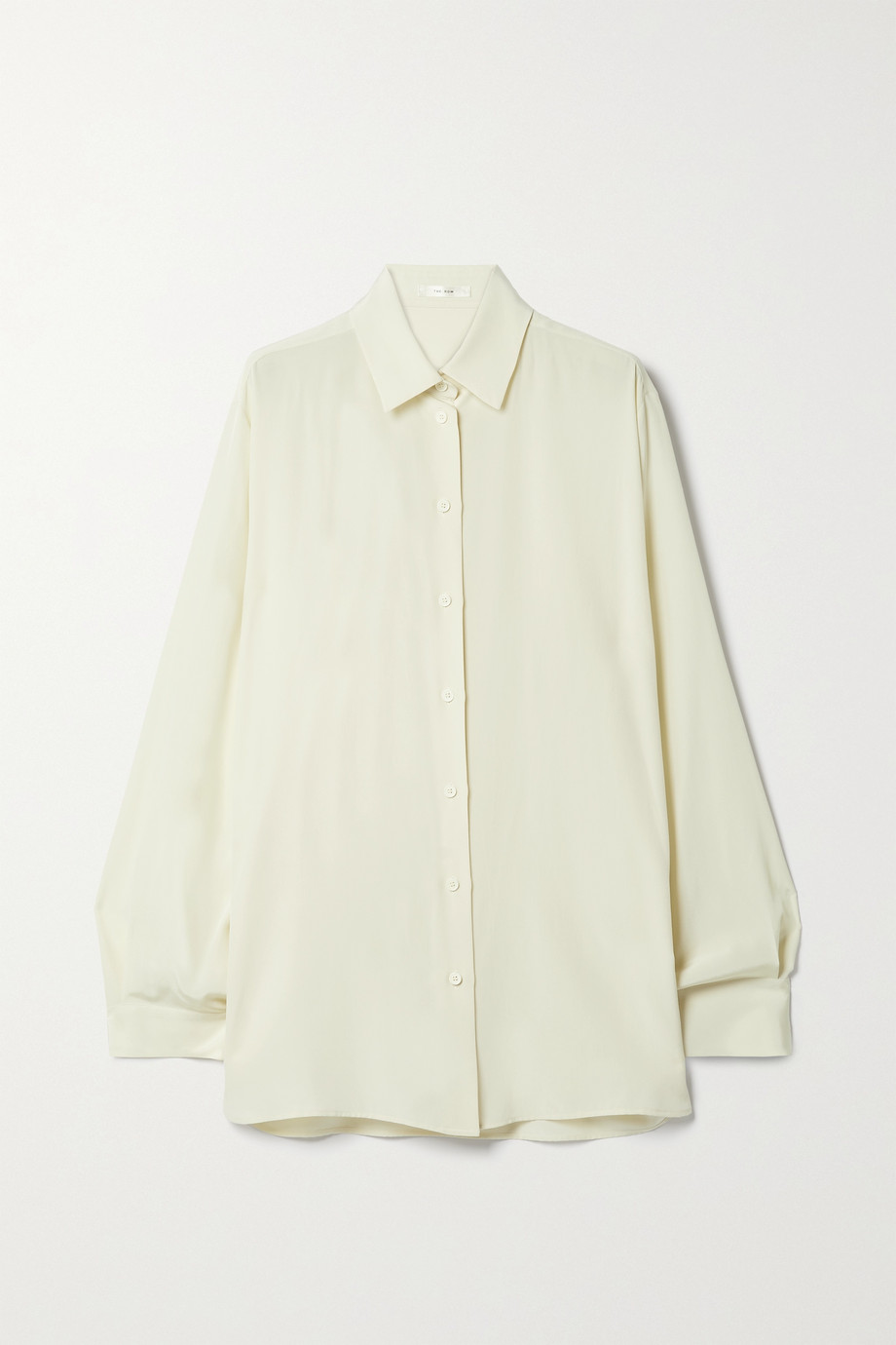 The Row Sisilia silk crepe de chine shirt