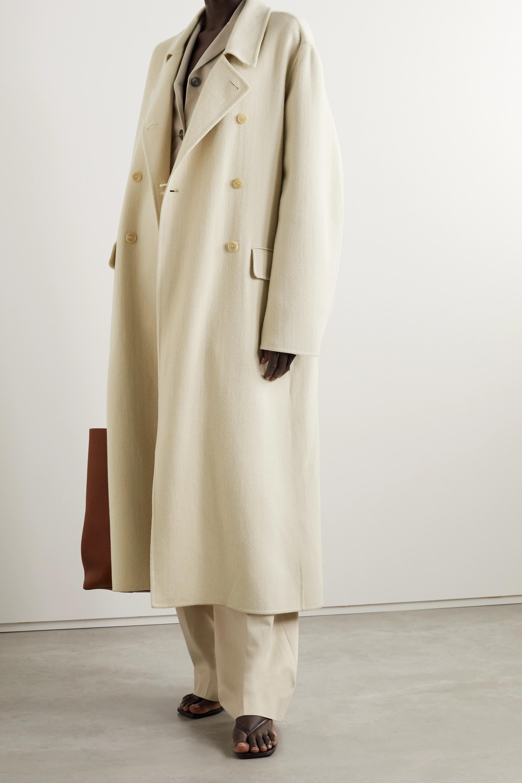 The Row Dilona doppelreihiger Oversized-Mantel aus einer Mischung aus Kaschmir, Wolle und Seide