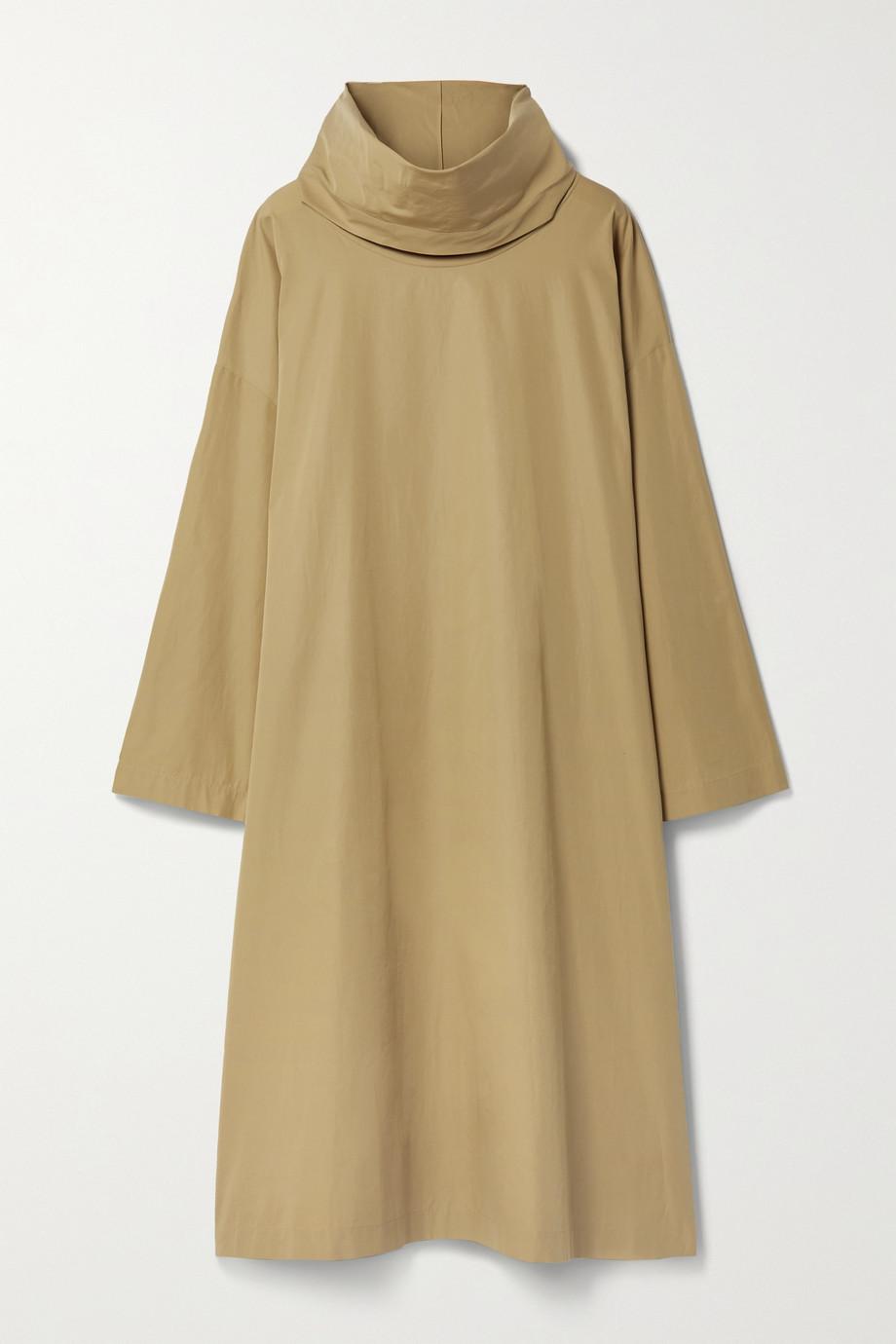 The Row Robe midi en popeline de coton à drapé Balsa