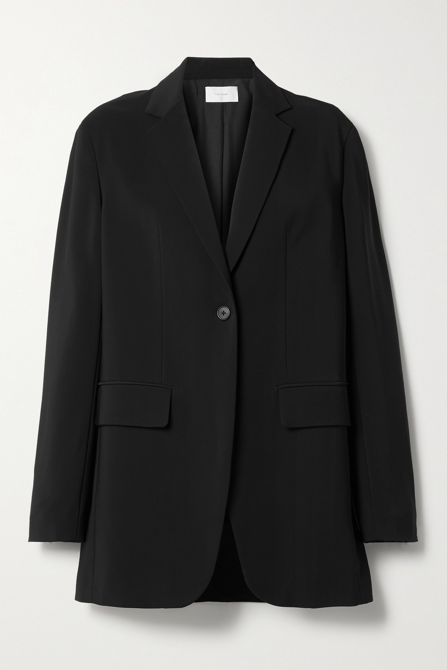 The Row Obine crepe blazer