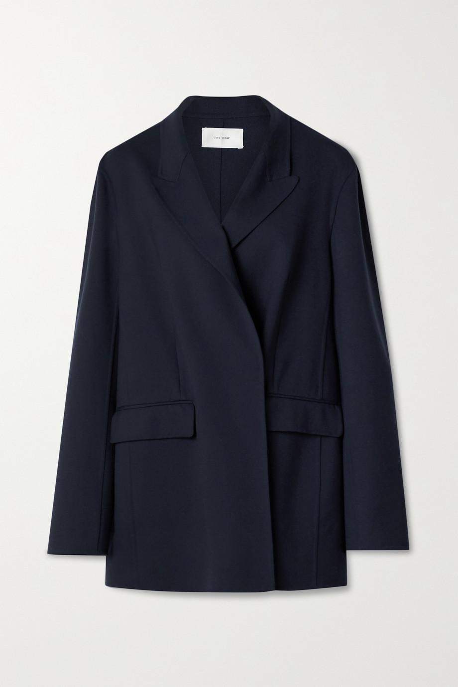 The Row Tristan doppelreihige Jacke aus einer Wollmischung