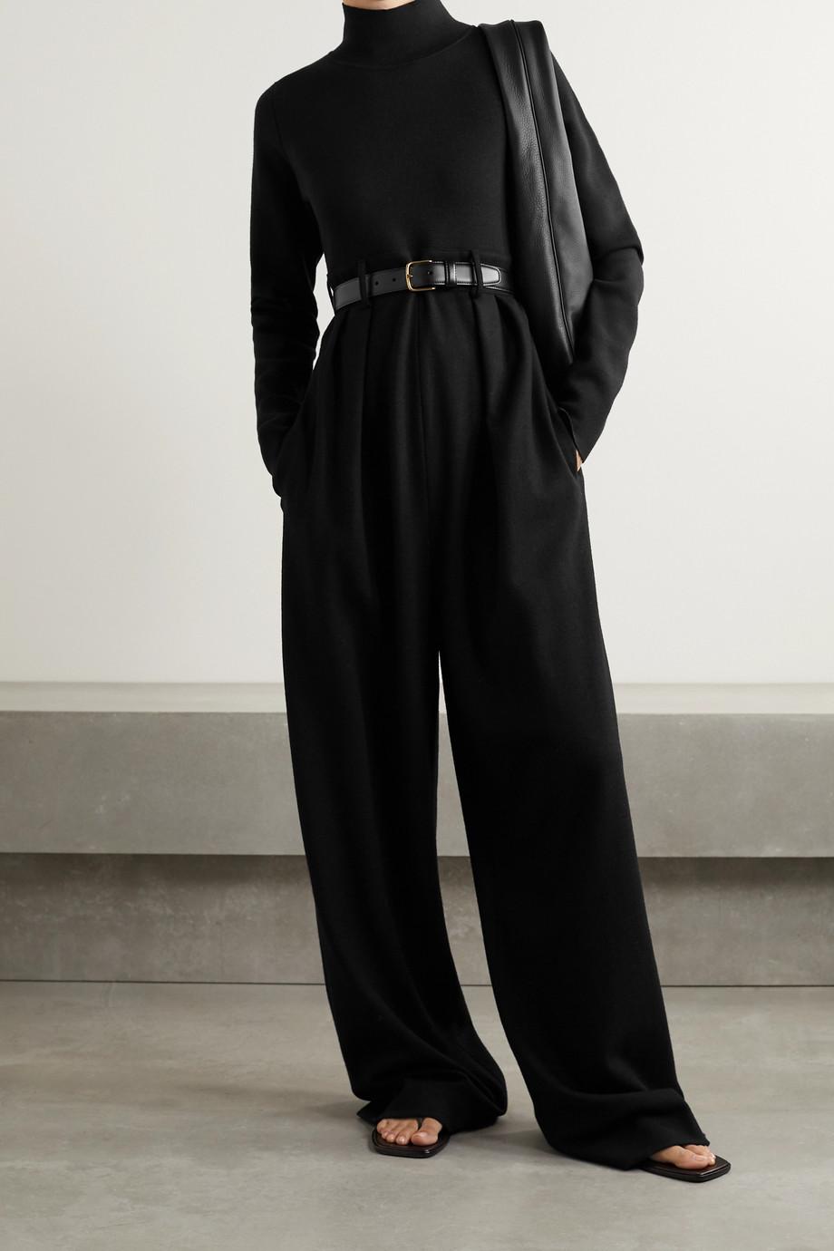 The Row Combi-pantalon en laine Celeste
