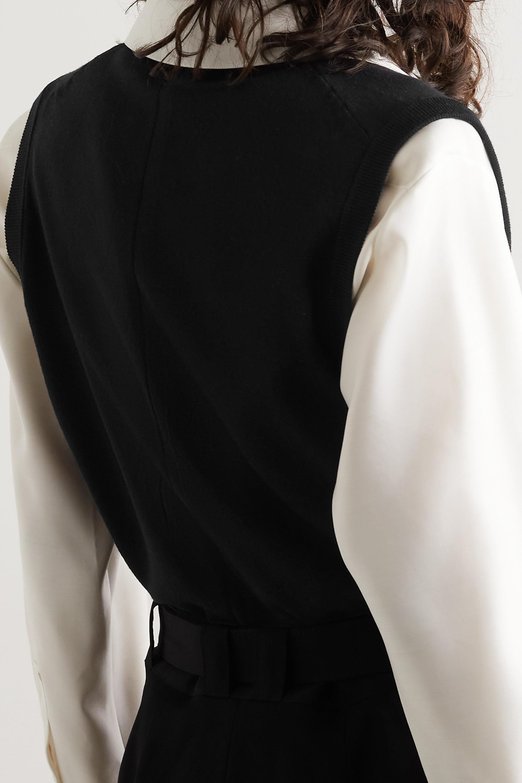 The Row Cremona merino wool vest