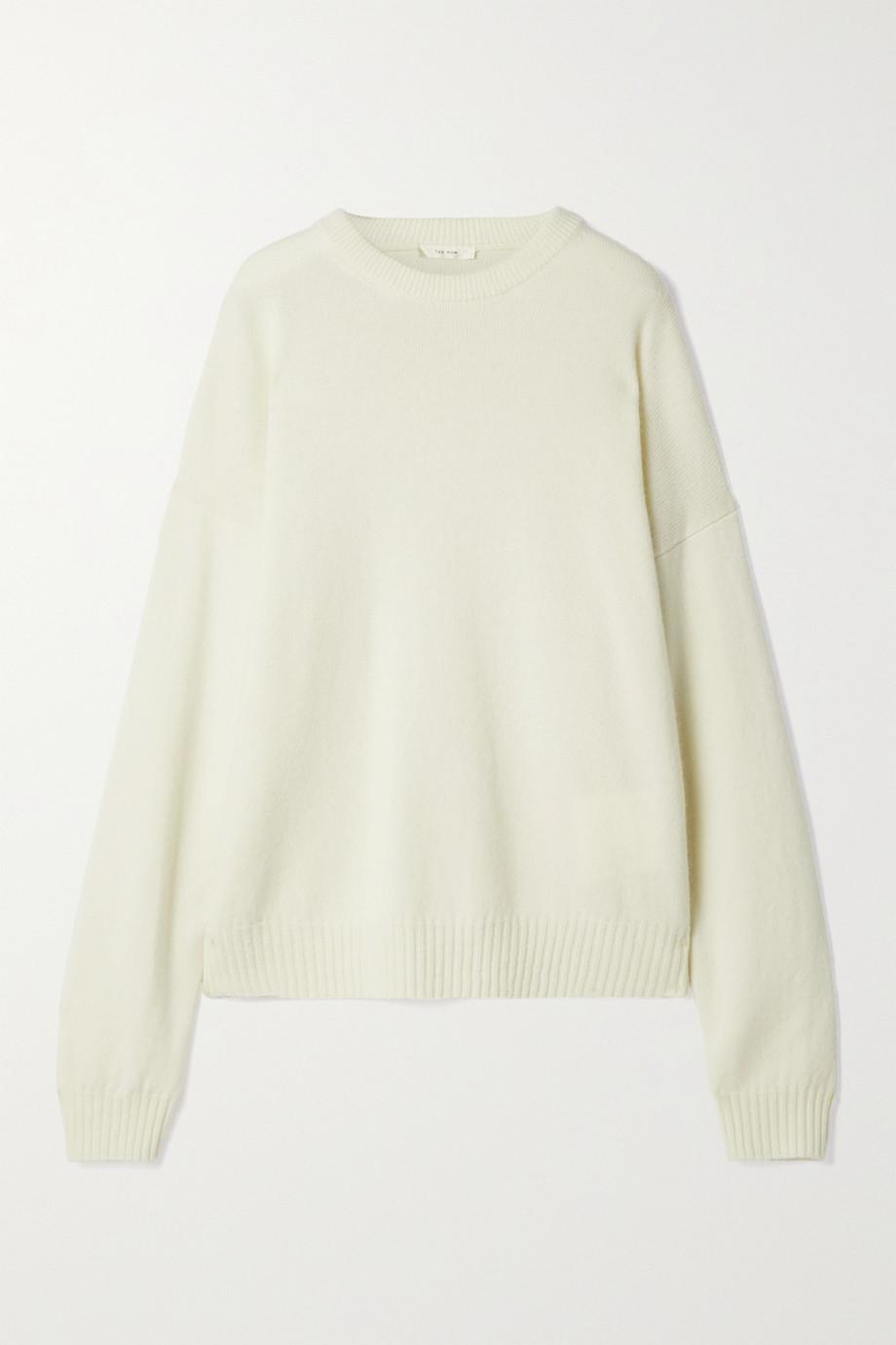 The Row Cirane merino wool and cashmere-blend sweater