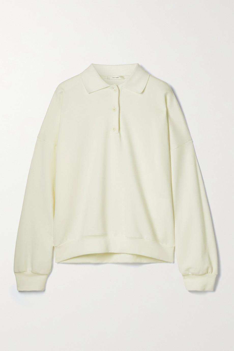 The Row Corzas cotton-jersey polo shirt
