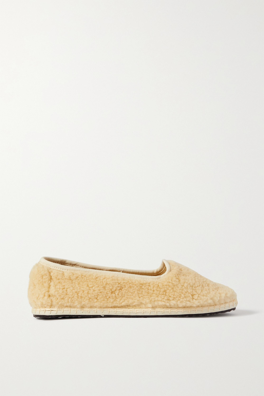 Vibi Venezia Shearling slippers