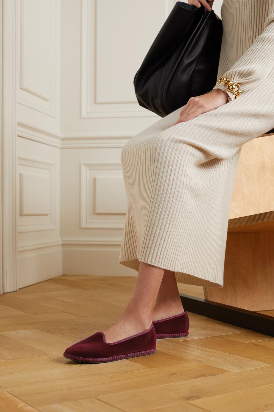 Vibi Venezia Velvet slippers